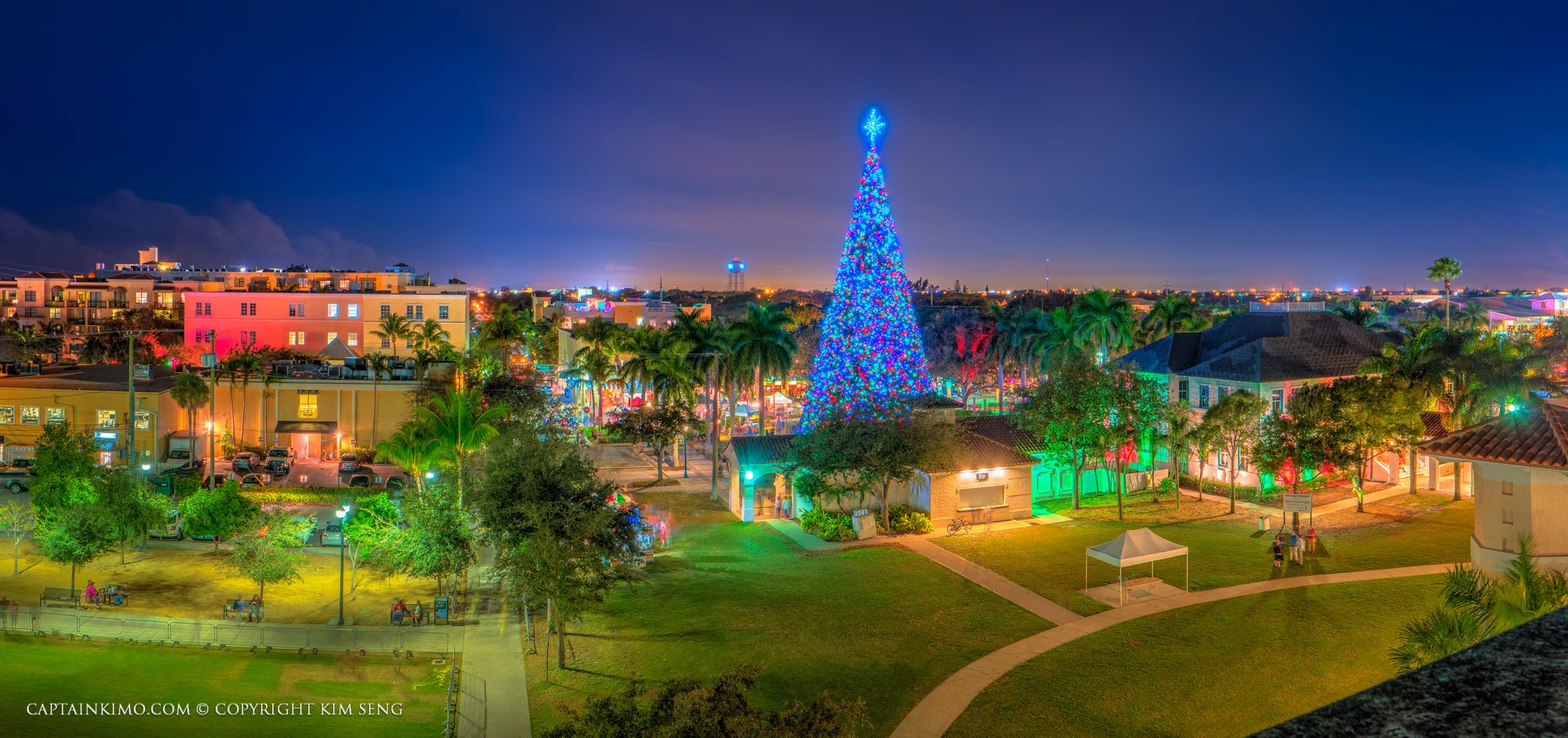 Christmas Town Florida.Christmas In Delray Beach Florida Christmas In Florida