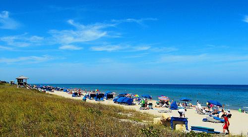 Delray Beach Florida Beaches In April