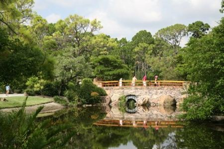 Japanese Gardens in Florida, Morikami Japanese Gardens