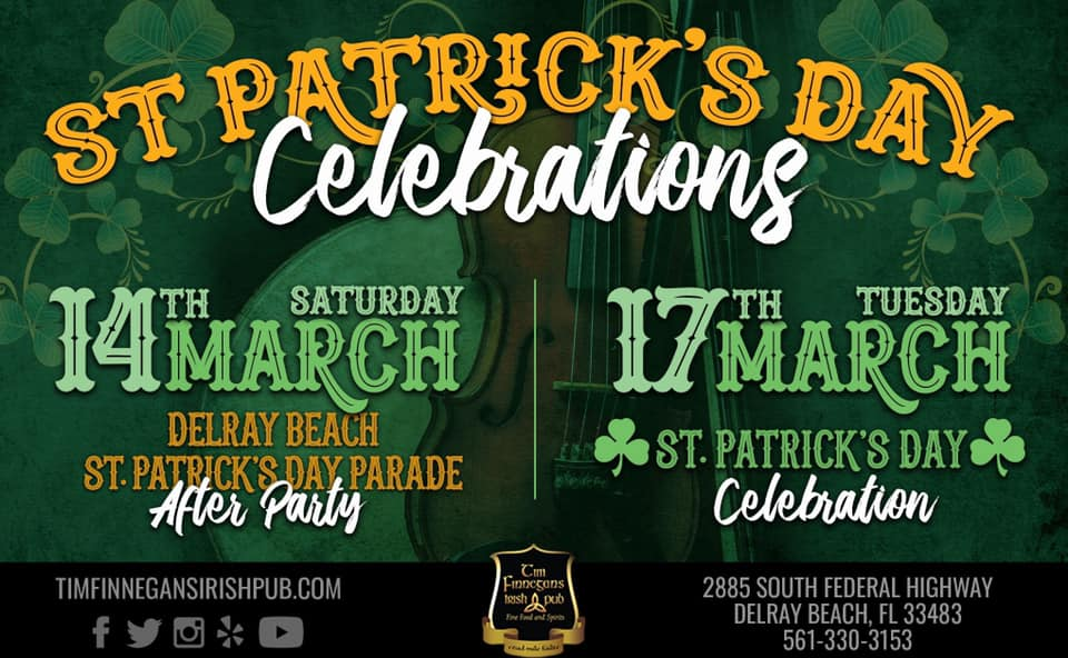 delray st patricks holiday