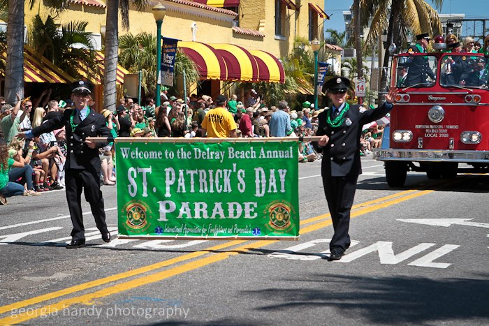St patrick 39 s day parade delray beach florida for St patrick s church palm beach gardens